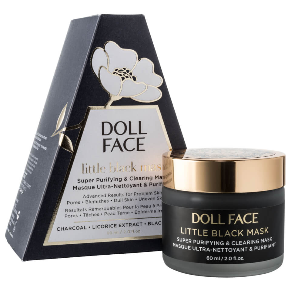 Doll Face Little Black Mask Super Purifying & Clearing