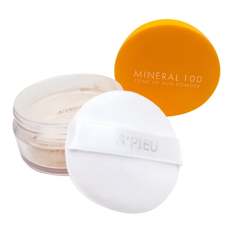 A'PIEU Mineral 100 Tone Up Sun Powder SPF50+ PA++