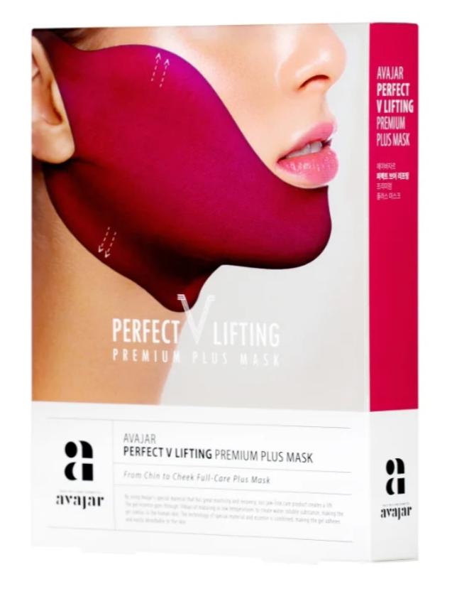 Умная лифтинговая маска Avajar Perfect V Lifting Premium plus