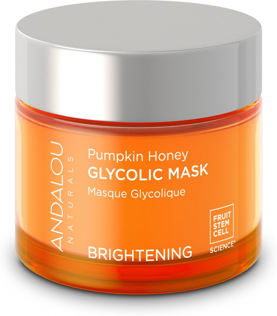 Andalou Naturals Brightening Pumpkin Honey Glycolic Mask Гликолевая маска Тыква и мёд манука