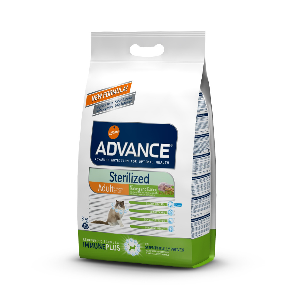 Affinity Advance Adult Cat Srerilized with Turkey and Barley