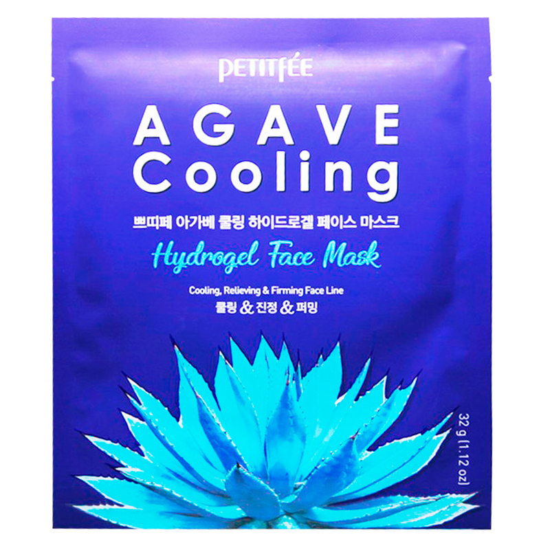 Petitfee Agave Cooling Hydrogel FaceMask