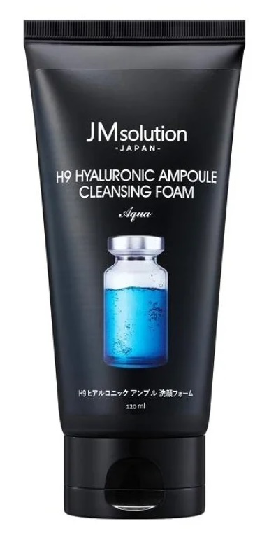 JM Solution H9 Hyaluronic Ampoule Cleansing Foam