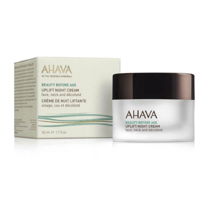 Крем ночной для подтяжки кожи лица, шеи и зоны декольте AHAVA Beauty Before Age