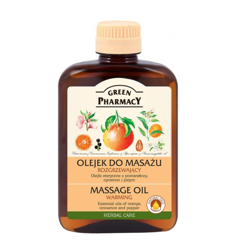 Green Pharmacy Warming Massage Oil