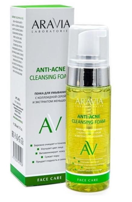 ARAVIA Laboratories Anti-Acne Cleansing Foam